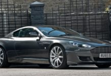 В тюнинговой версии Aston Martin DB9 Signature Edition Kahn Design улучшил аэродинамику